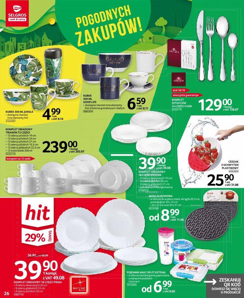 Gazetka promocyjna Selgros do 03/07/2019 str.25