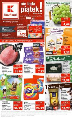 Kaufland gazetka - od 19/09/2019 do 25/09/2019