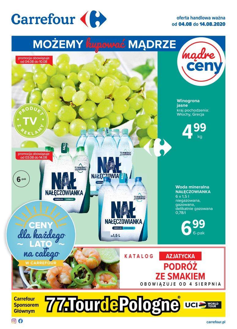 Gazetka promocyjna Carrefour do 10/08/2020 str.1