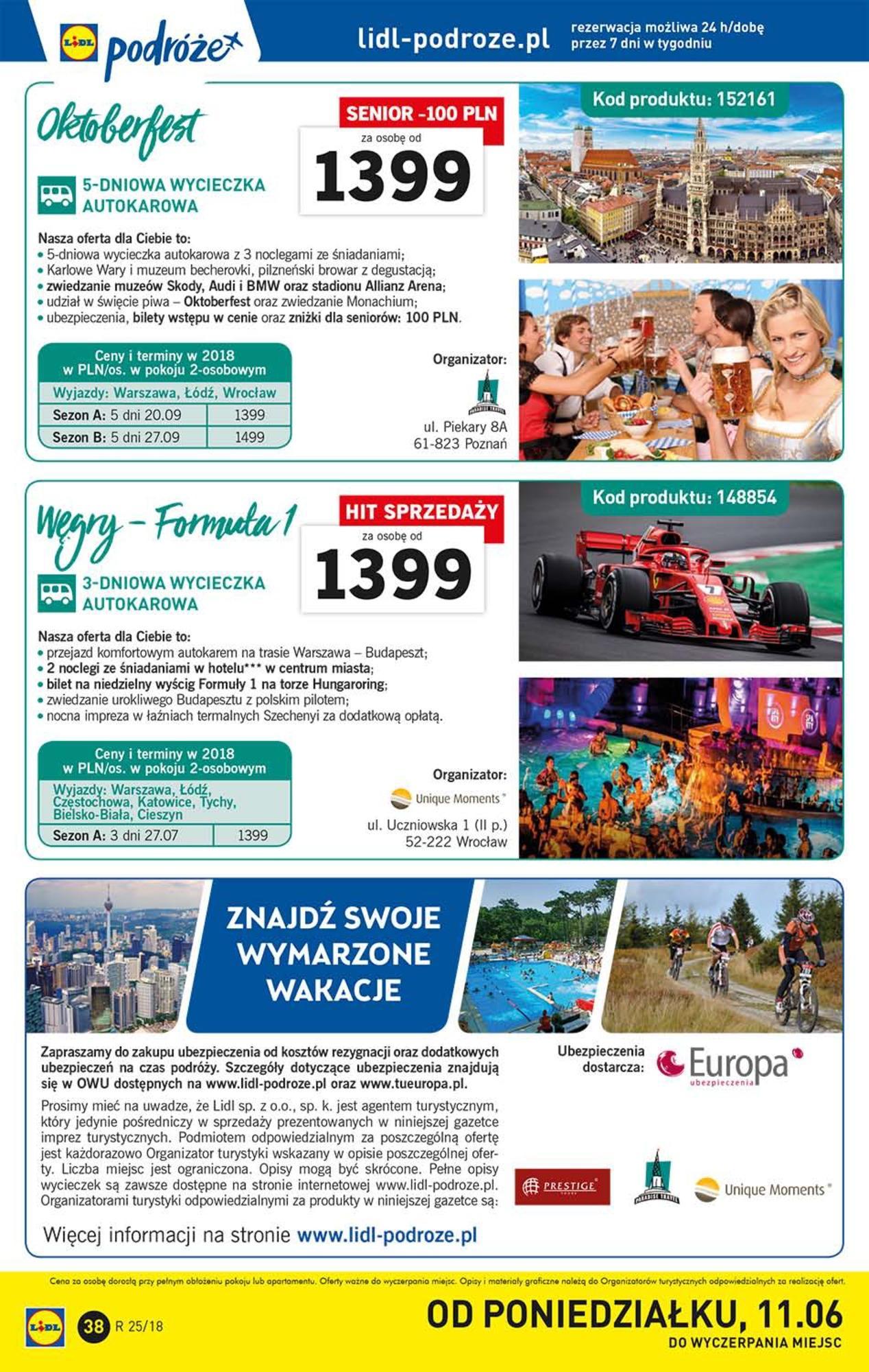 Gazetka promocyjna Lidl do 24/06/2018 str.38