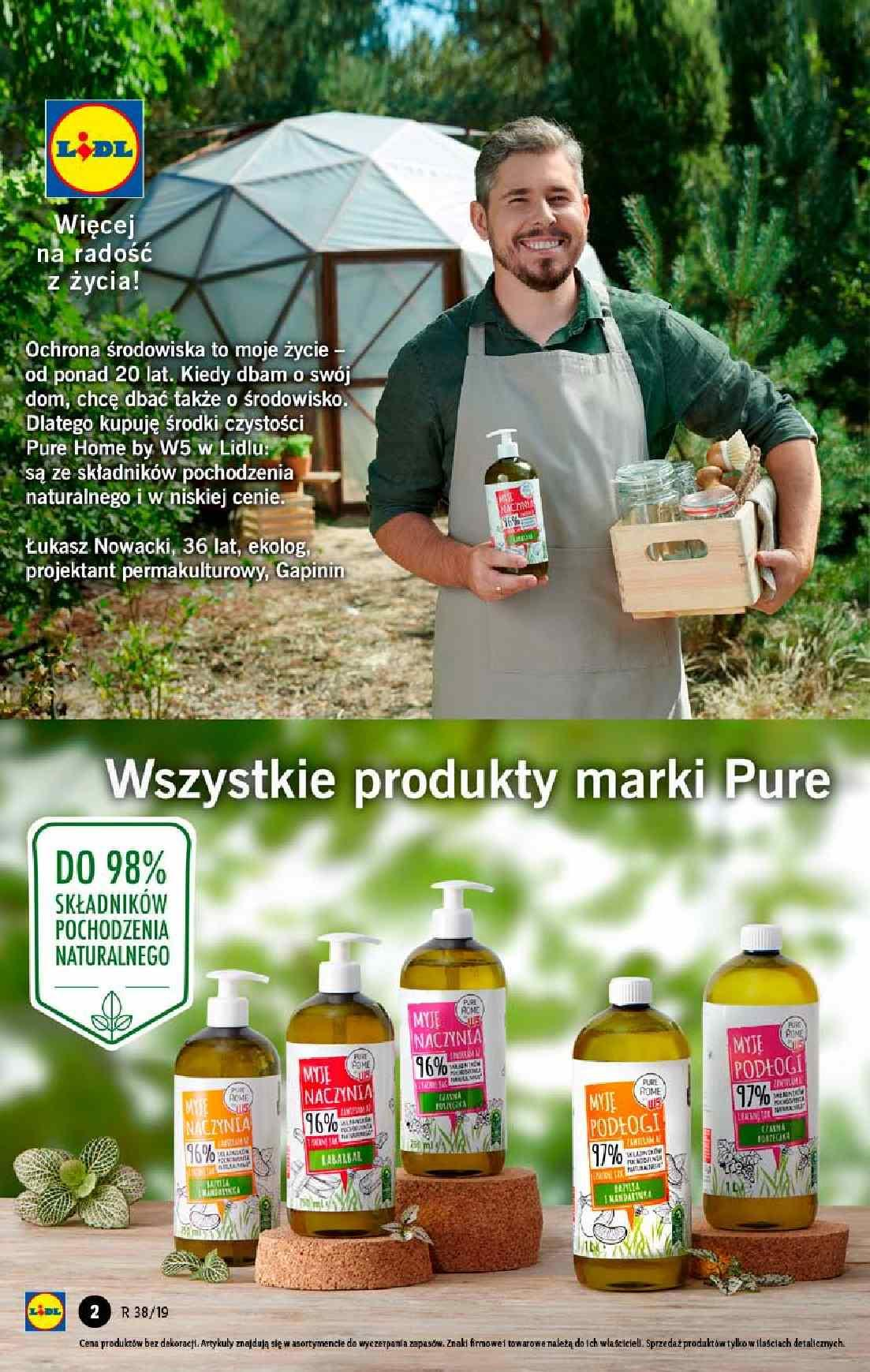 Gazetka promocyjna Lidl do 18/09/2019 str.1