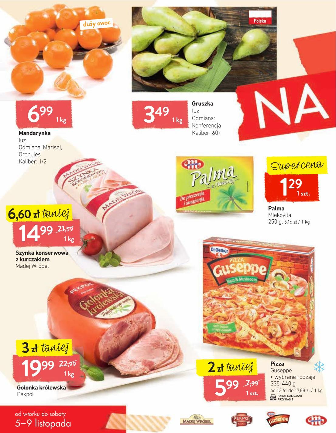 Gazetka promocyjna Intermarche do 09/11/2019 str.1