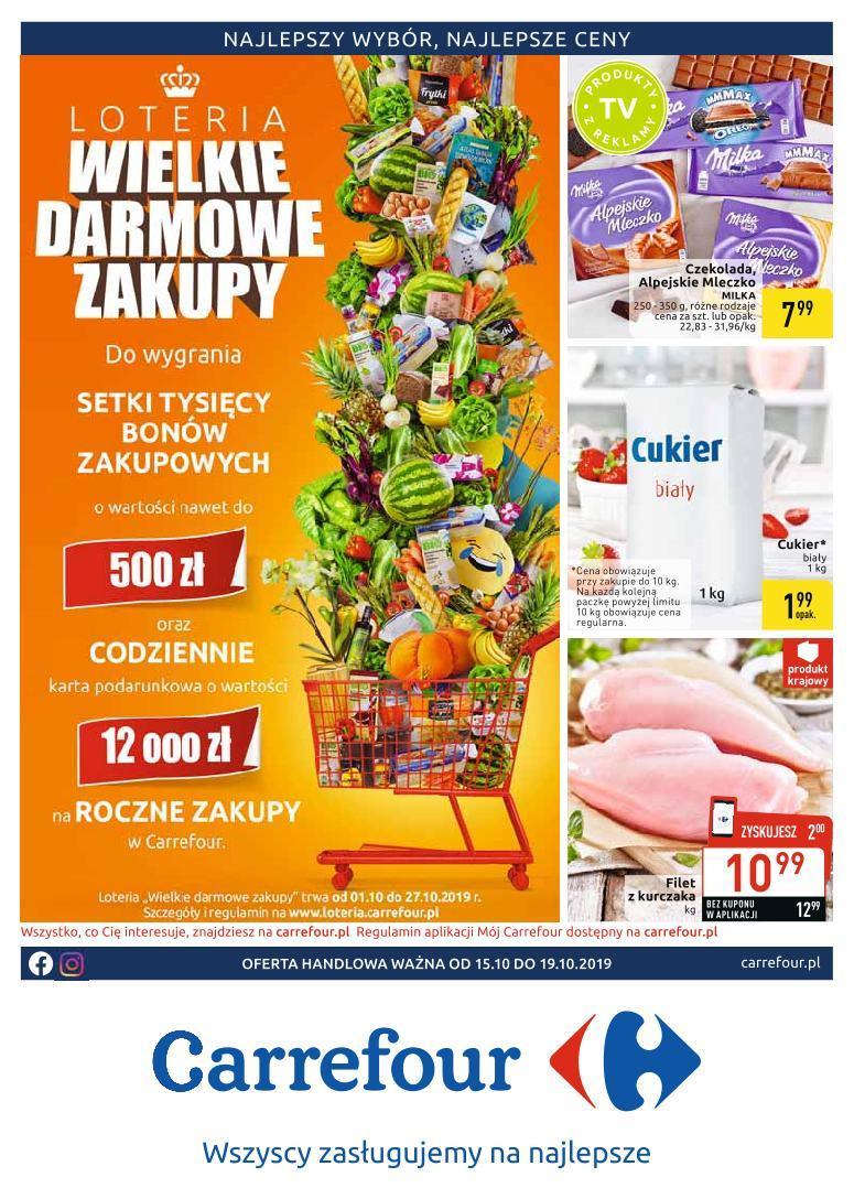 Gazetka promocyjna Carrefour do 19/10/2019 str.0