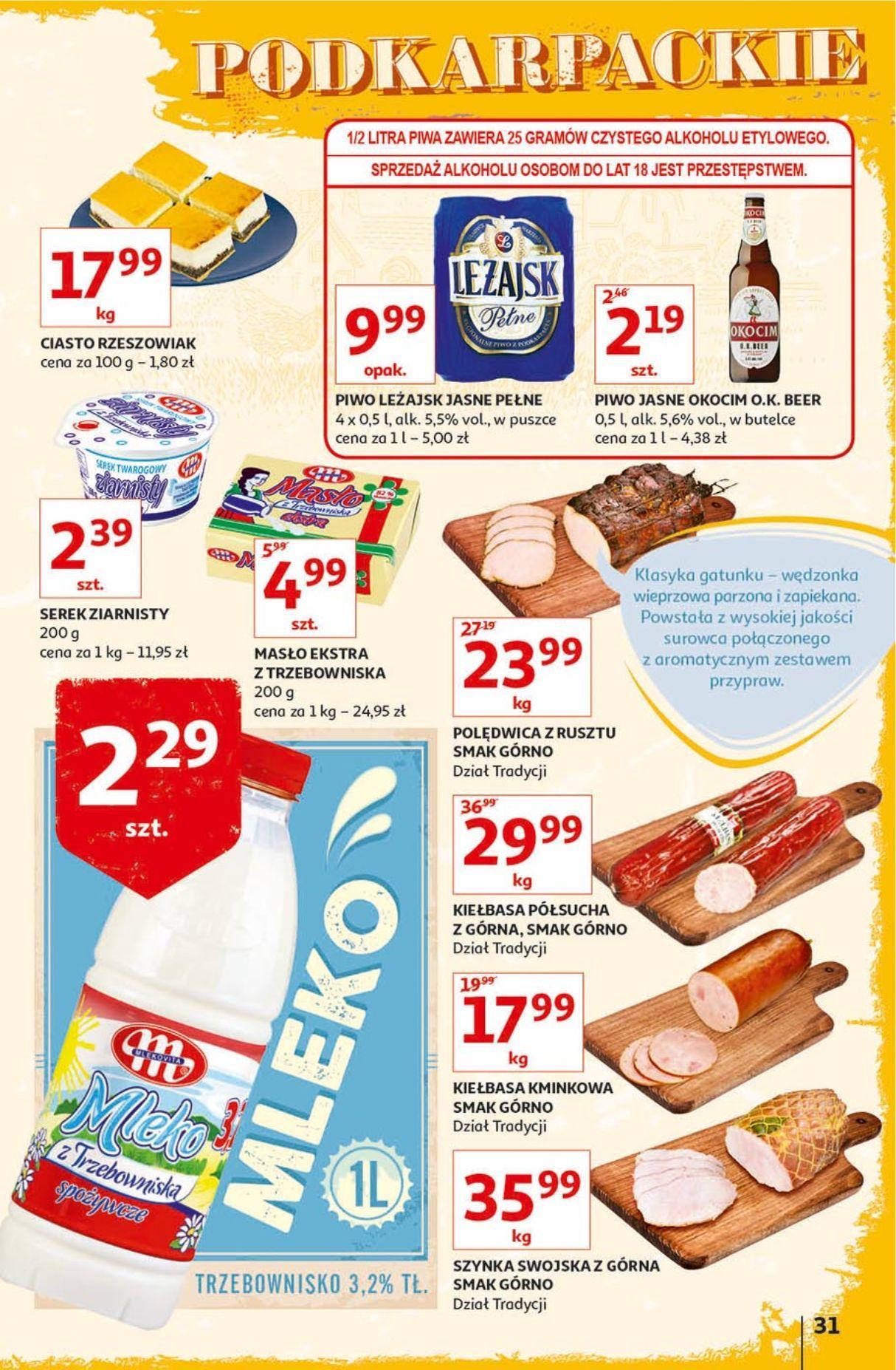 Gazetka promocyjna Auchan do 18/09/2019 str.31