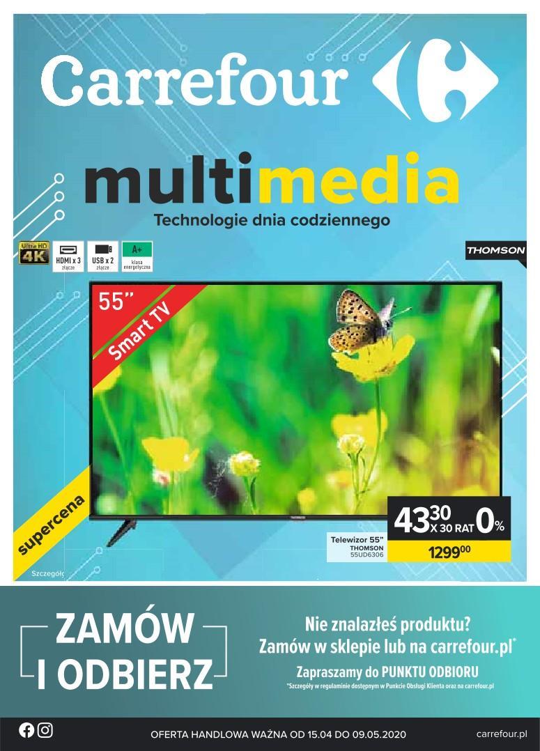 Gazetka promocyjna Carrefour do 09/05/2020 str.0