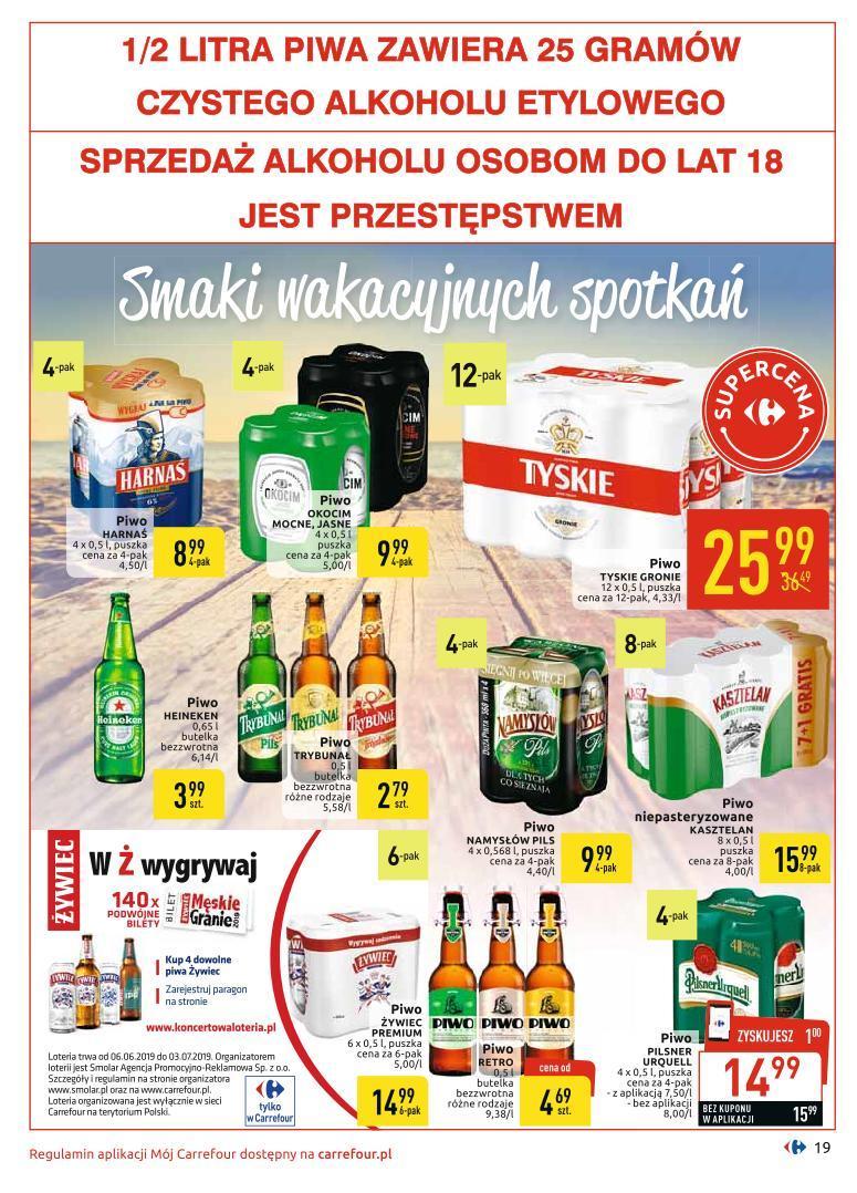 Gazetka promocyjna Carrefour do 06/07/2019 str.19