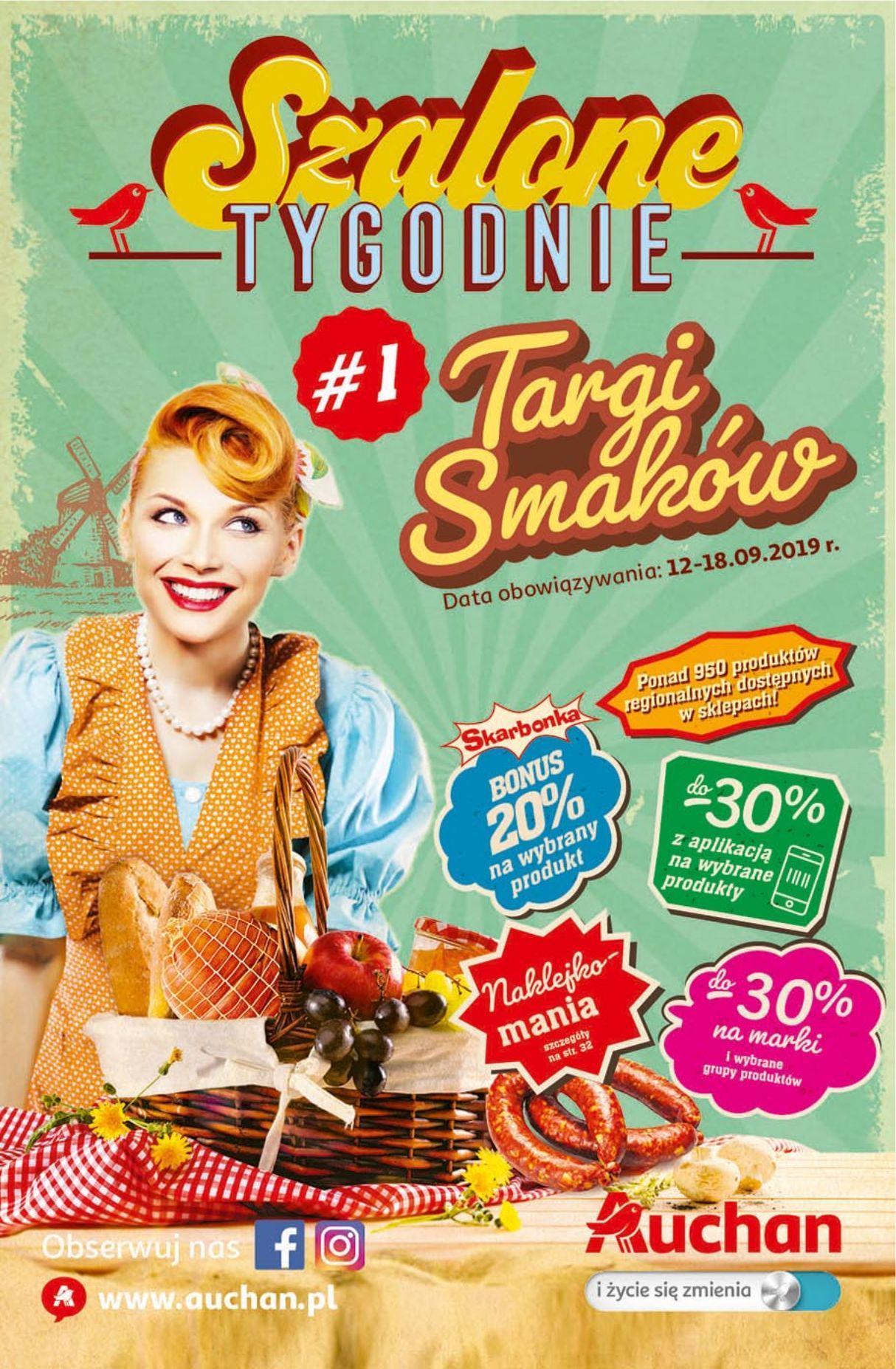 Gazetka promocyjna Auchan do 18/09/2019 str.1