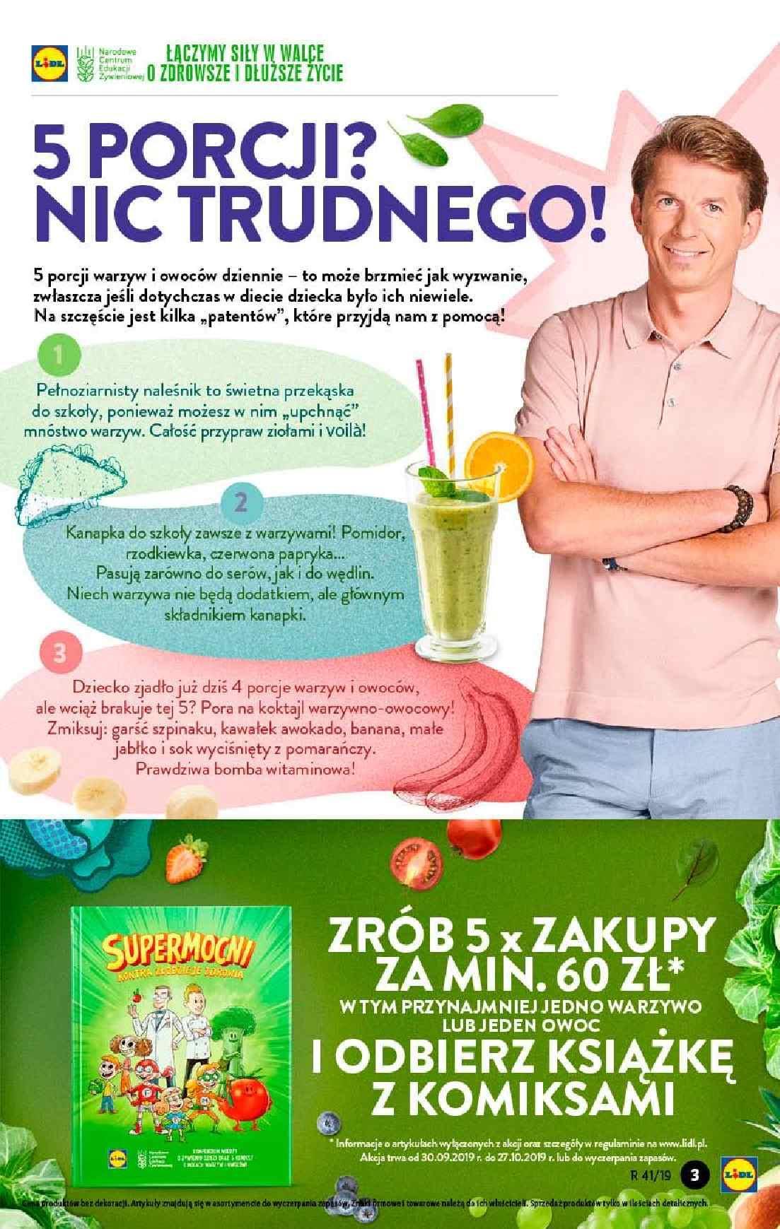 Gazetka promocyjna Lidl do 09/10/2019 str.3