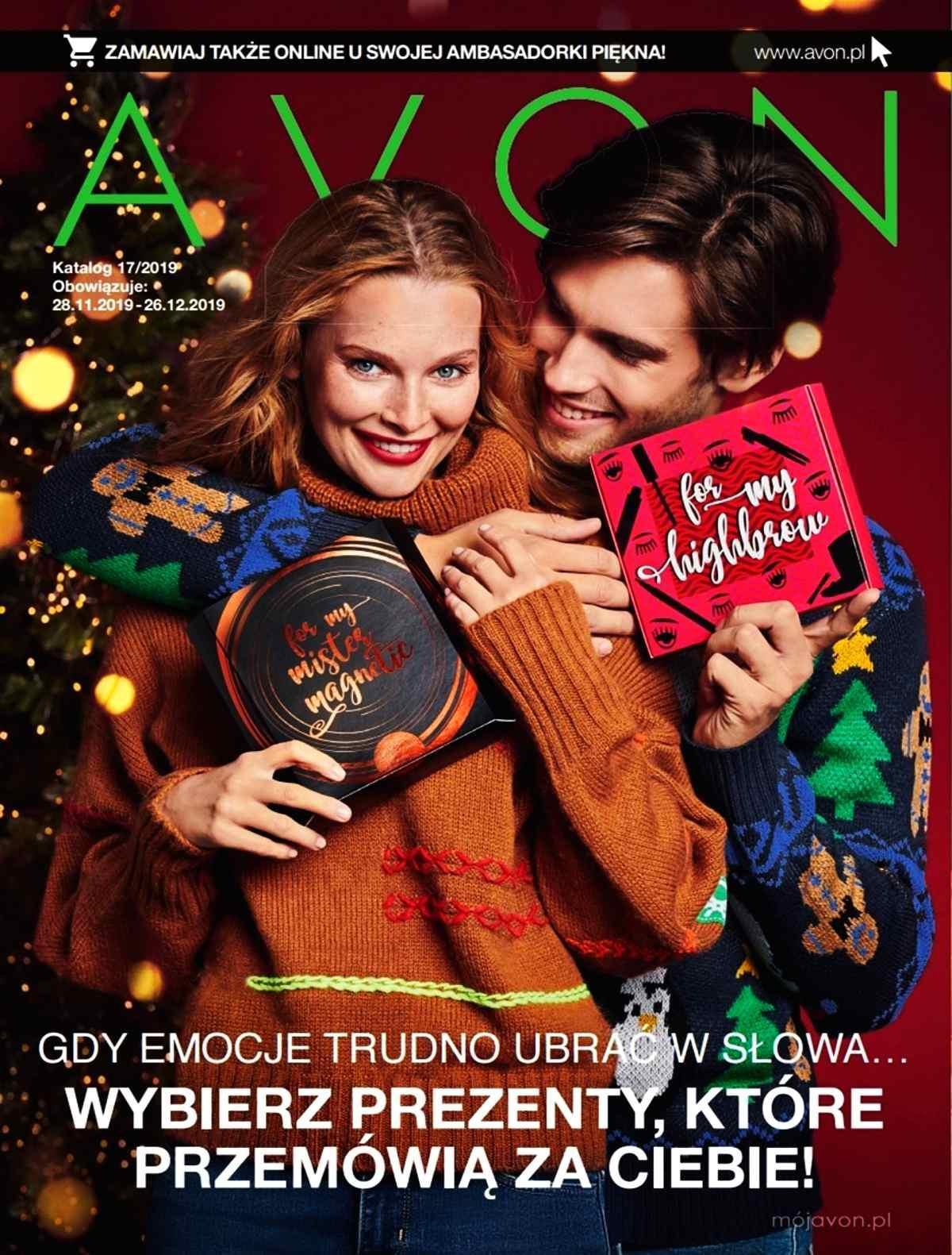 Gazetka promocyjna Avon do 26/12/2019 str.1