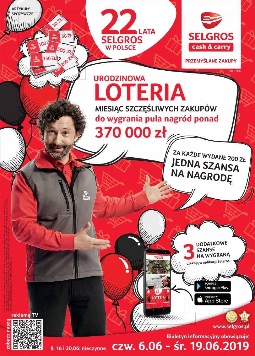 Gazetka promocyjna Selgros do 19/06/2019 str.0