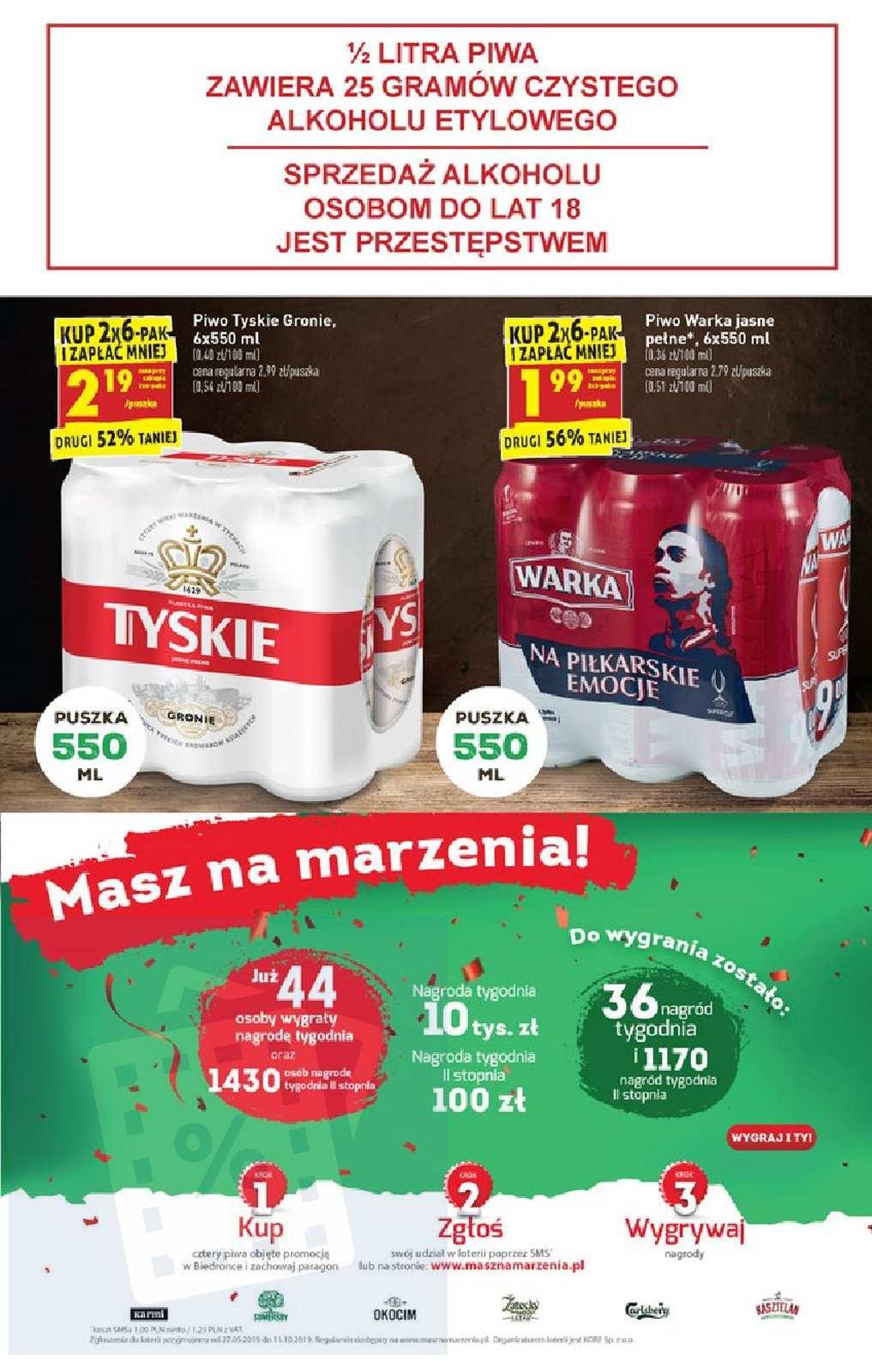 Gazetka promocyjna Biedronka do 31/08/2019 str.49