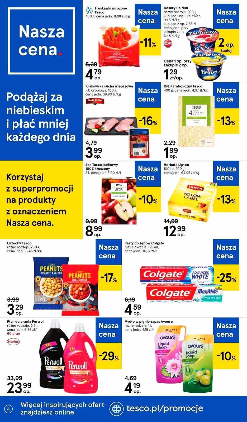 Gazetka promocyjna Tesco do 23/10/2019 str.4