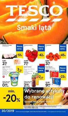 Tesco gazetka - od 25/07/2019 do 31/07/2019