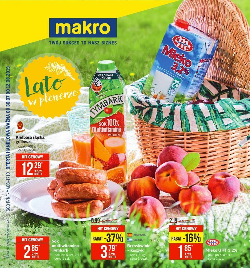 Gazetka promocyjna MAKRO do 12/08/2019 str.0