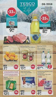 Tesco gazetka - od 22/02/2018 do 28/02/2018