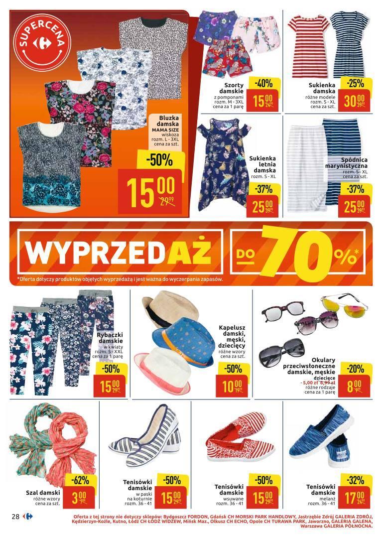 Gazetka promocyjna Carrefour do 06/07/2019 str.28