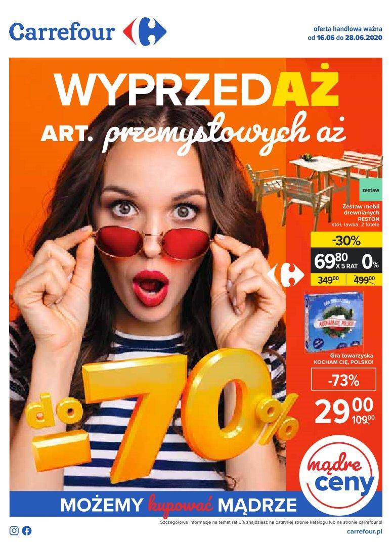 Gazetka promocyjna Carrefour do 28/06/2020 str.0