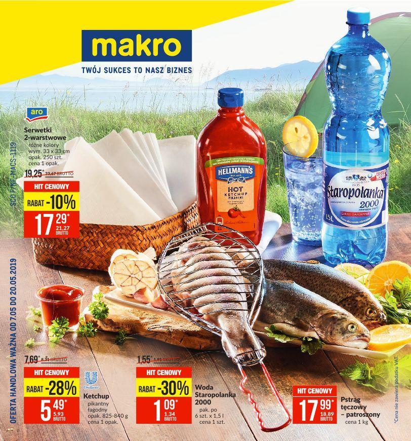 Gazetka promocyjna MAKRO do 20/05/2019 str.0