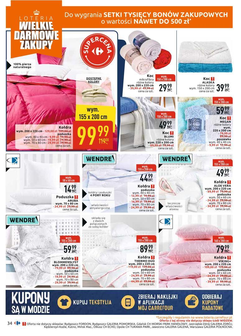 Gazetka promocyjna Carrefour do 19/10/2019 str.34