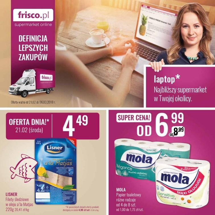 Gazetka promocyjna Frisco.pl do 06/03/2018 str.0