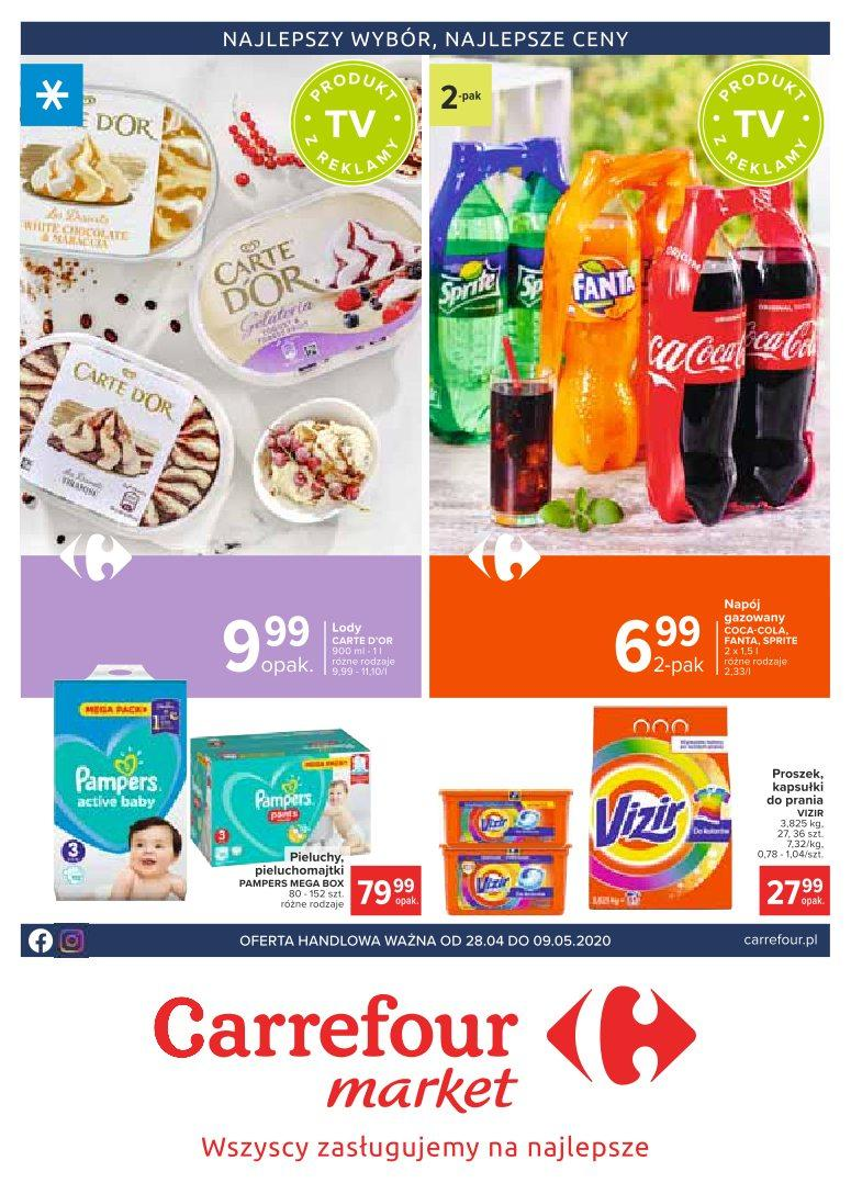 Gazetka promocyjna i reklamowa Carrefour Market,