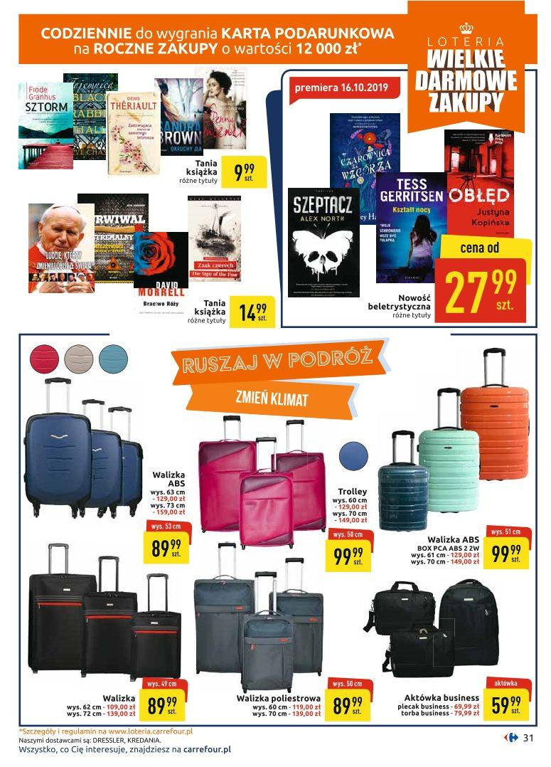 Gazetka promocyjna Carrefour do 19/10/2019 str.31