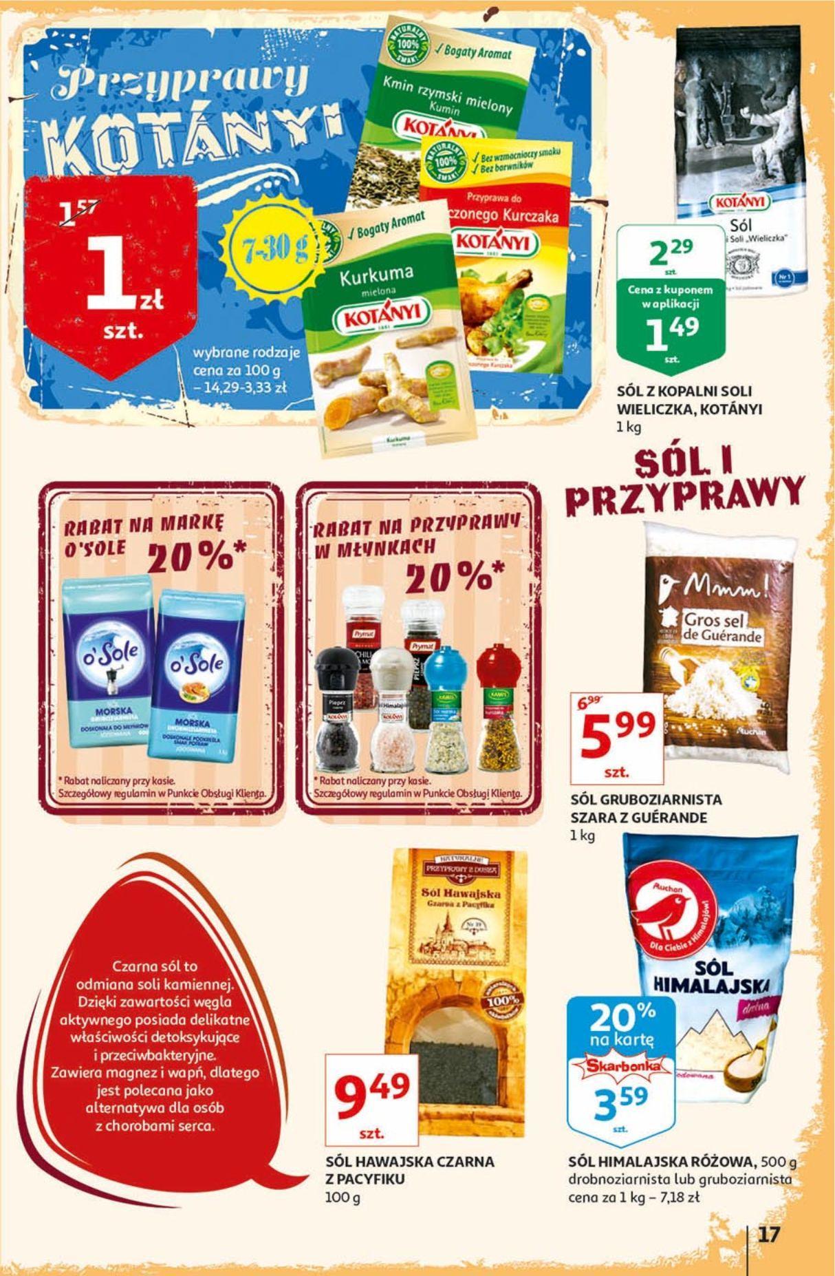 Gazetka promocyjna Auchan do 18/09/2019 str.17
