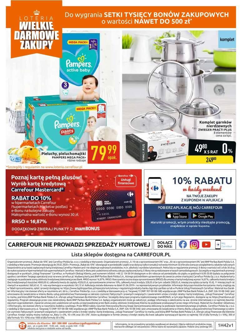 Gazetka promocyjna Carrefour do 19/10/2019 str.40
