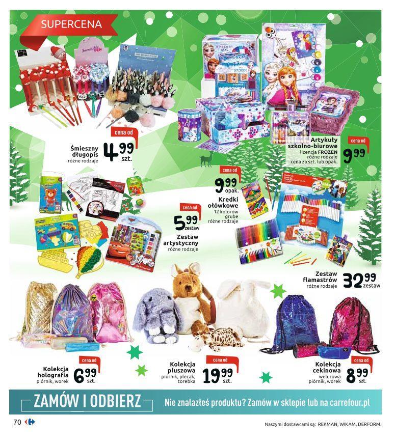 Gazetka promocyjna Carrefour do 24/12/2019 str.70