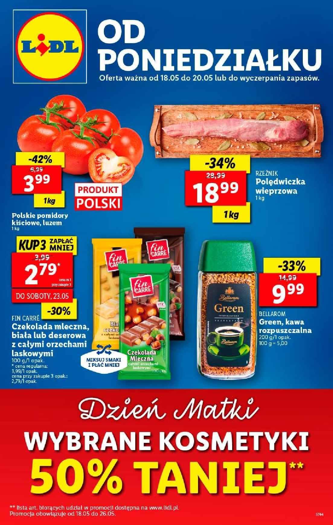 Gazetka promocyjna Lidl do 20/05/2020 str.1