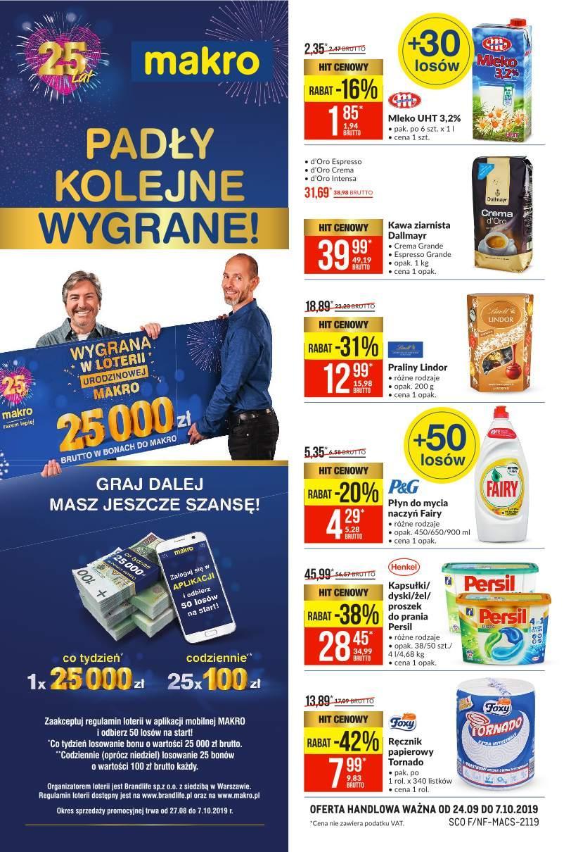 Gazetka promocyjna MAKRO do 07/10/2019 str.0