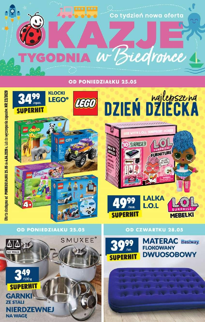 Gazetka promocyjna Biedronka do 06/06/2020 str.1