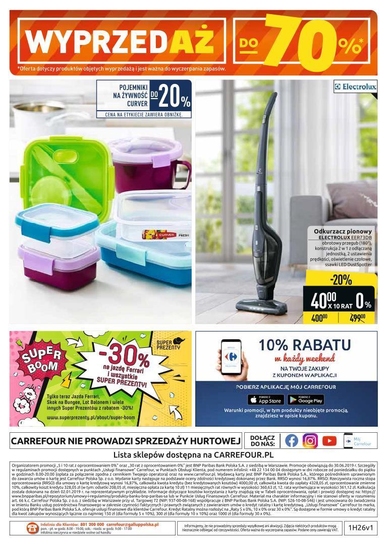 Gazetka promocyjna Carrefour do 06/07/2019 str.36