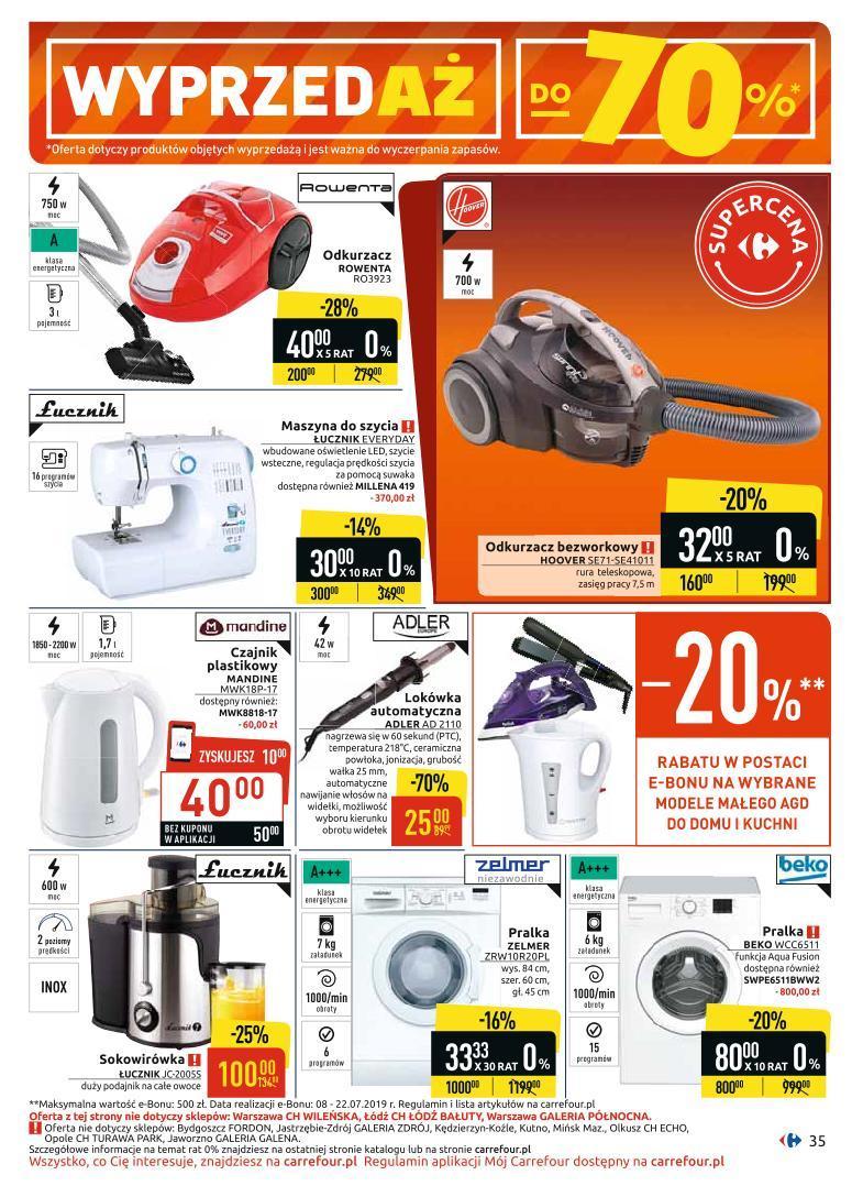 Gazetka promocyjna Carrefour do 06/07/2019 str.34