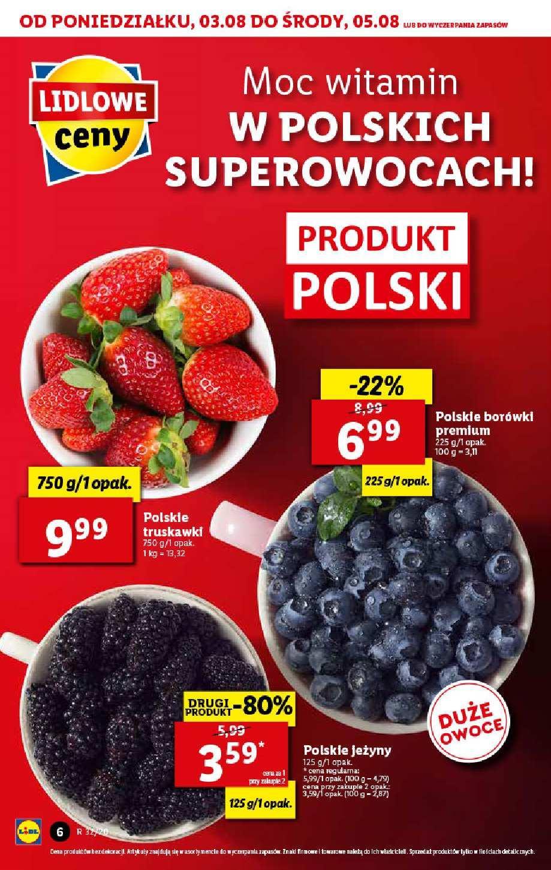 Gazetka promocyjna Lidl do 05/08/2020 str.6