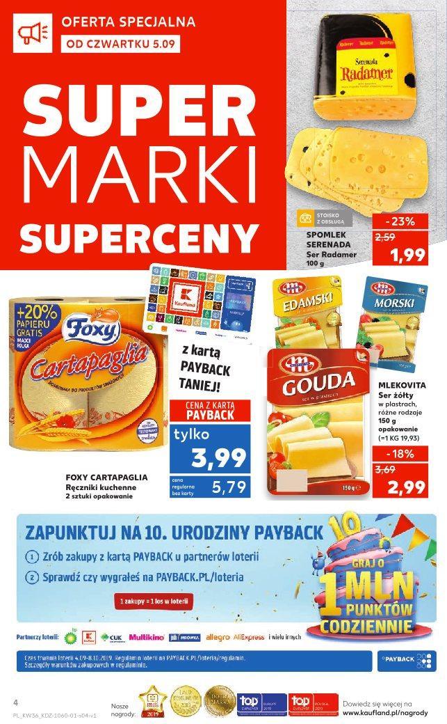 Gazetka promocyjna Kaufland do 11/09/2019 str.3