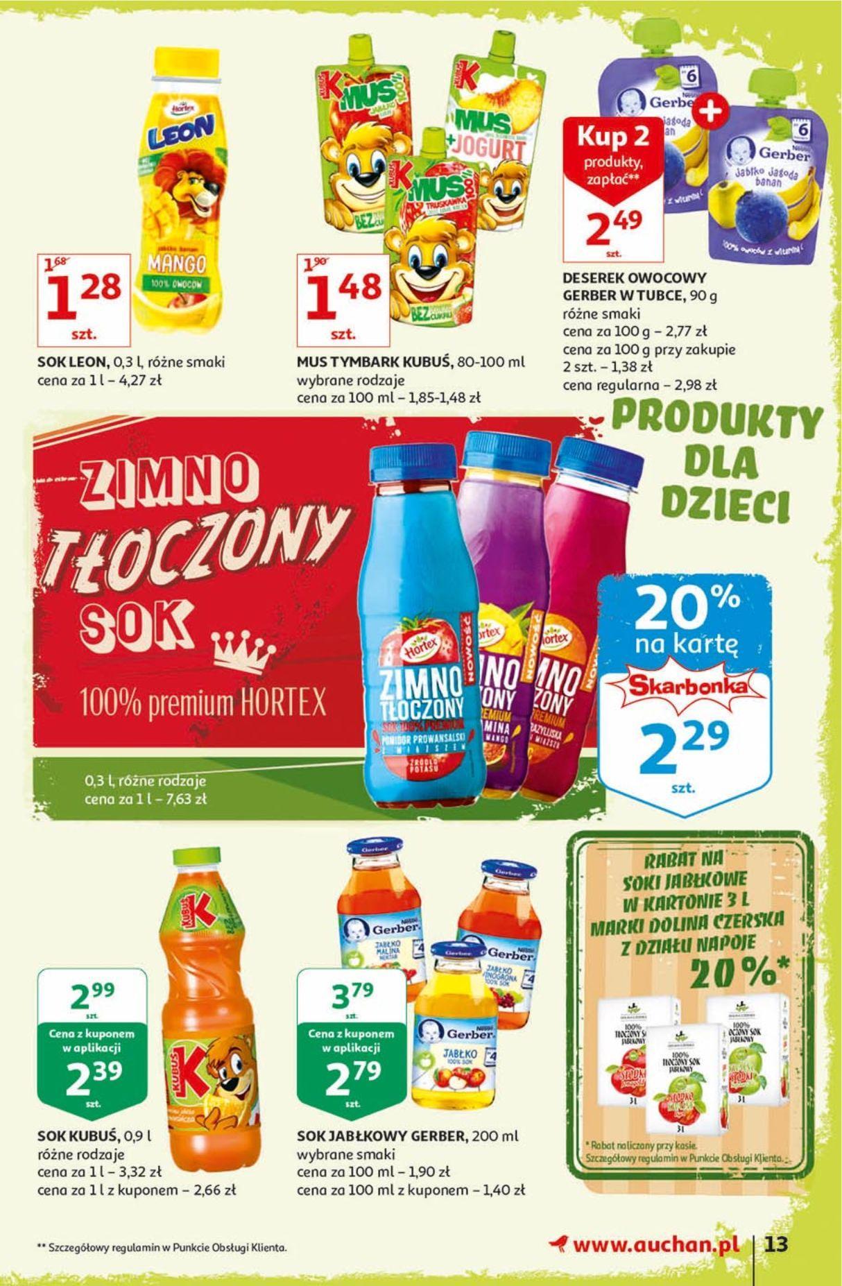 Gazetka promocyjna Auchan do 18/09/2019 str.13