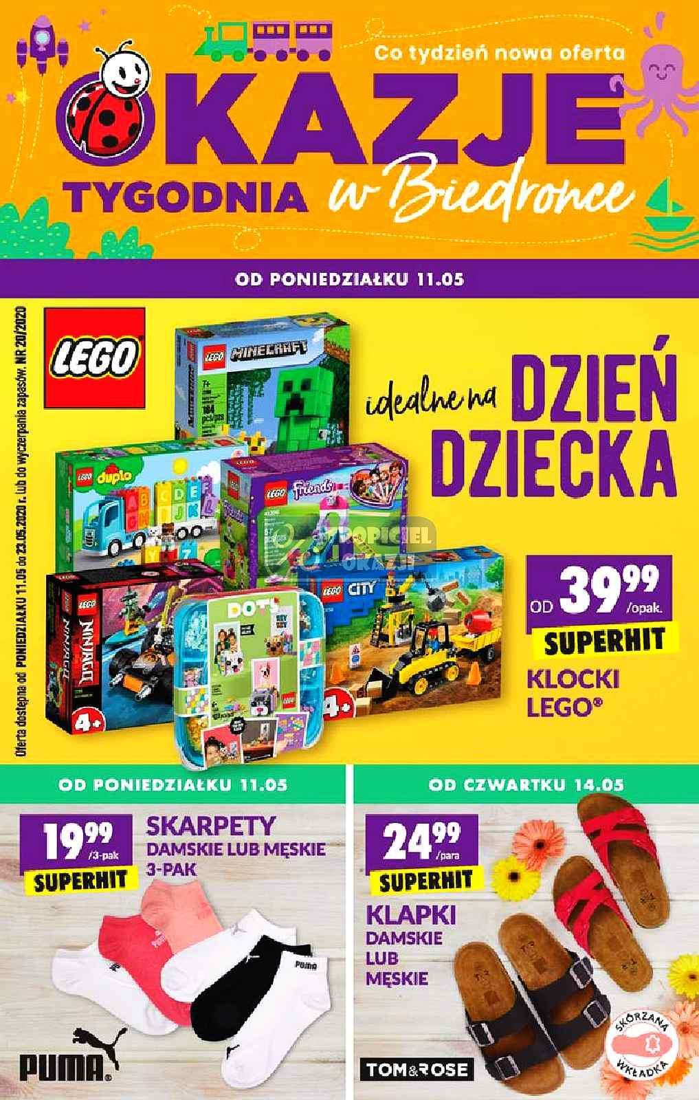 Gazetka promocyjna Biedronka do 23/05/2020 str.1