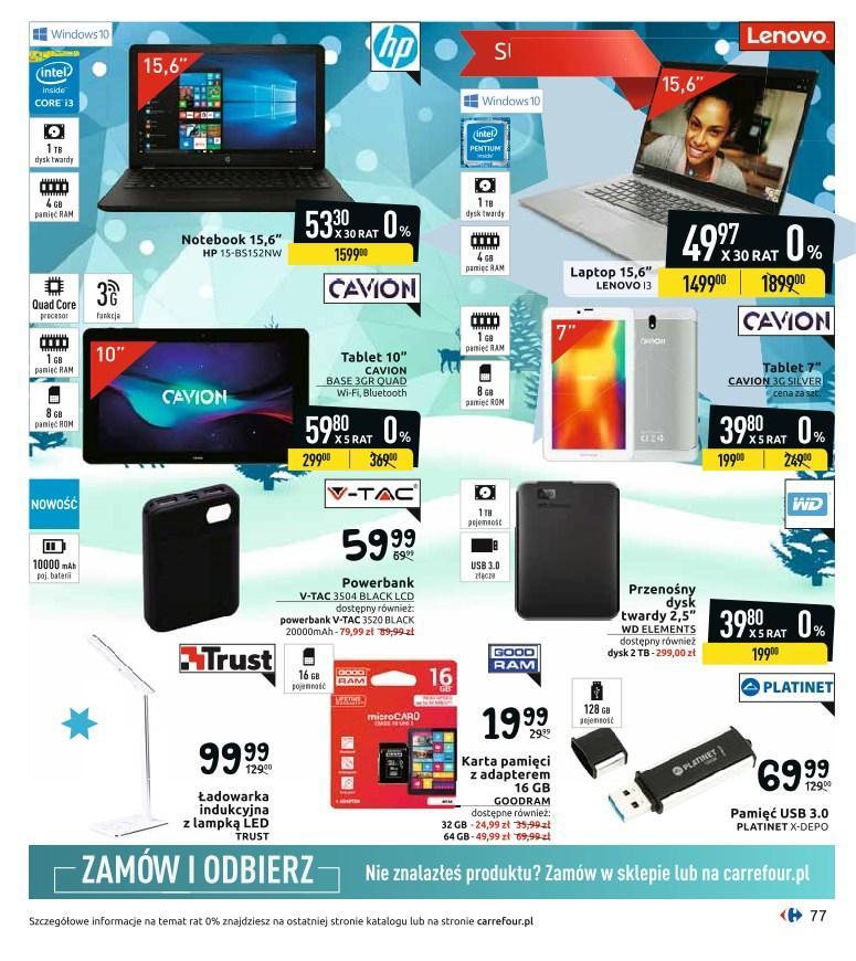 Gazetka promocyjna Carrefour do 24/12/2019 str.77
