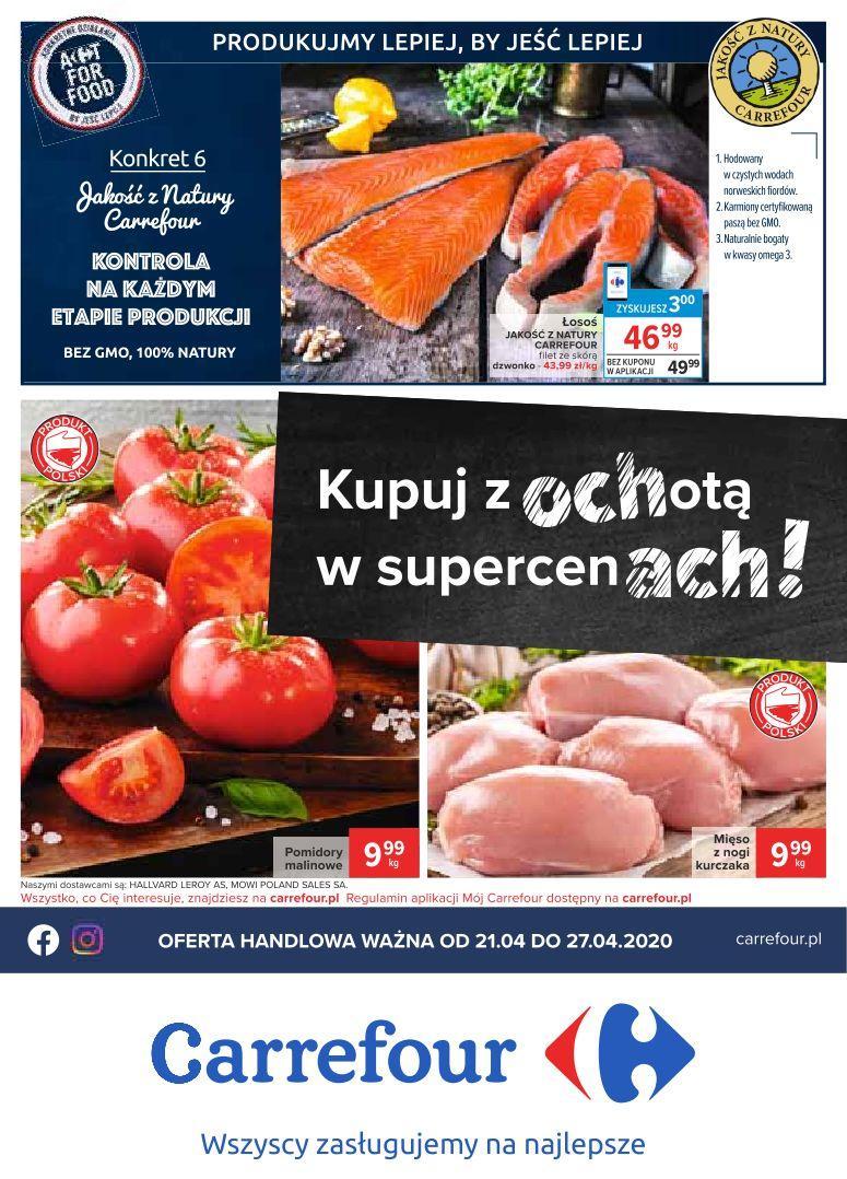 Gazetka promocyjna Carrefour do 27/04/2020 str.0