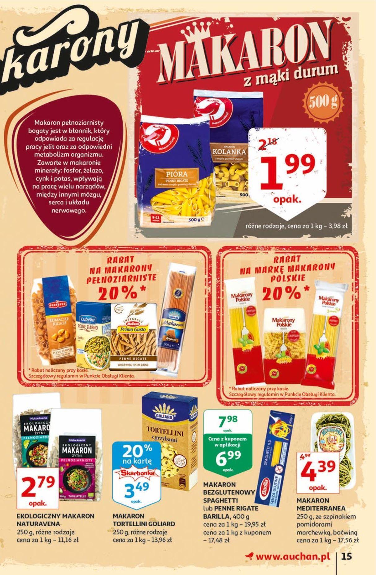 Gazetka promocyjna Auchan do 18/09/2019 str.15