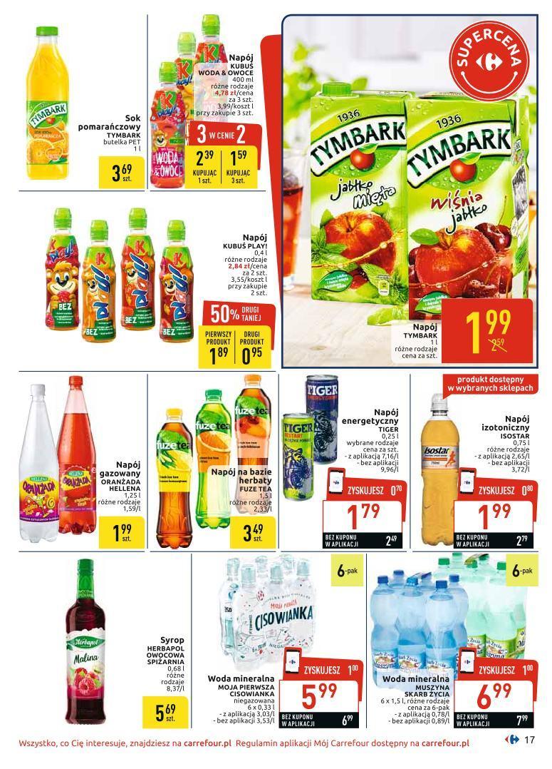 Gazetka promocyjna Carrefour do 06/07/2019 str.17