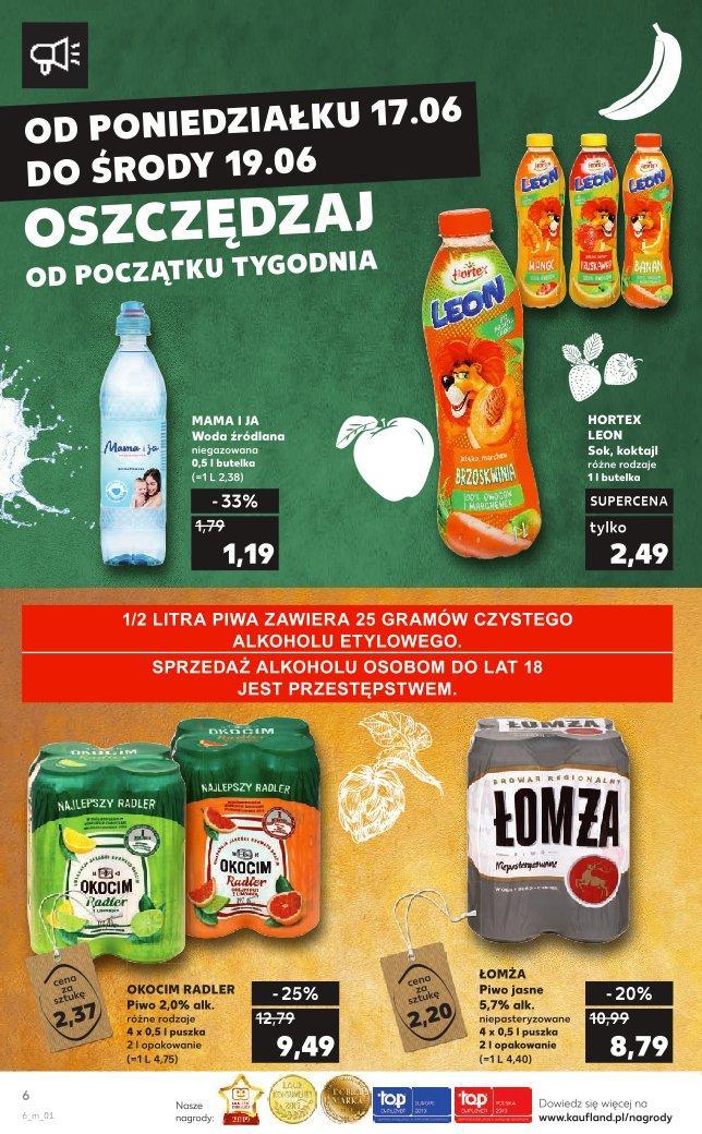Gazetka promocyjna Kaufland do 19/06/2019 str.6