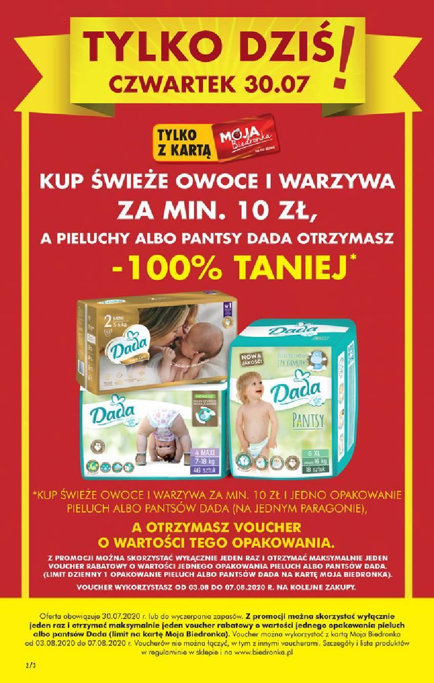 Gazetka promocyjna Biedronka do 05/08/2020 str.2