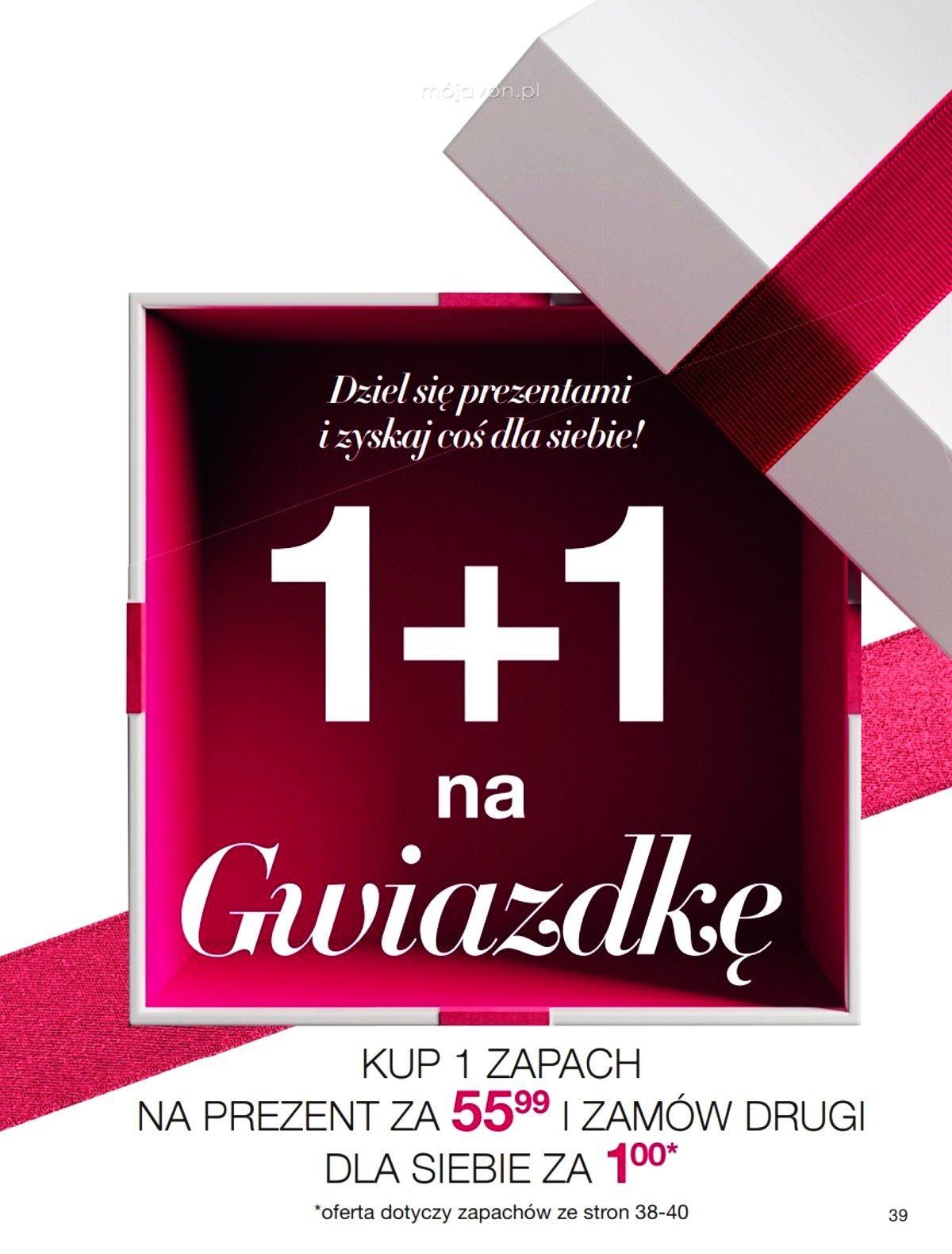 Gazetka promocyjna Avon do 26/12/2019 str.39