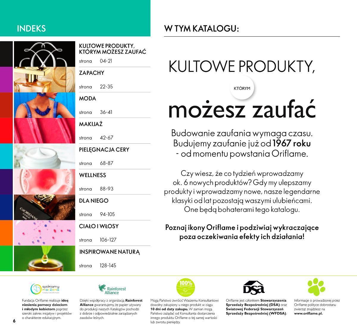 Gazetka promocyjna Oriflame do 18/08/2019 str.6