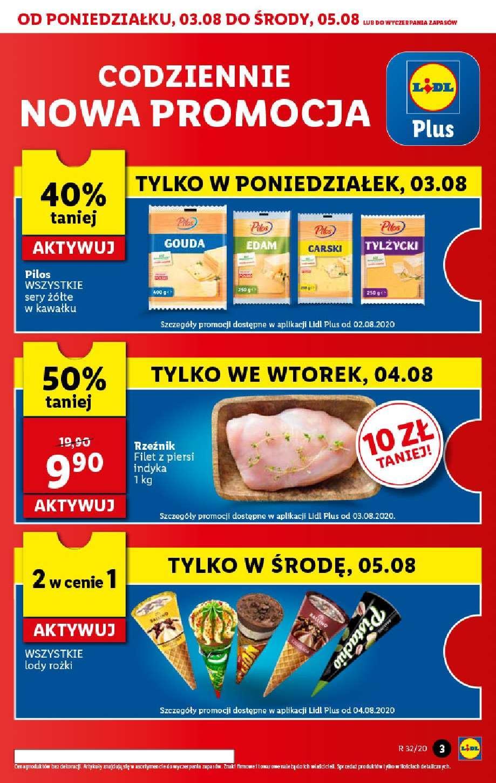 Gazetka promocyjna Lidl do 05/08/2020 str.3