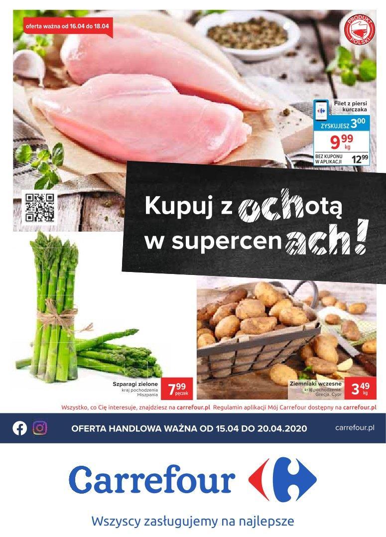 Gazetka promocyjna Carrefour do 18/04/2020 str.0