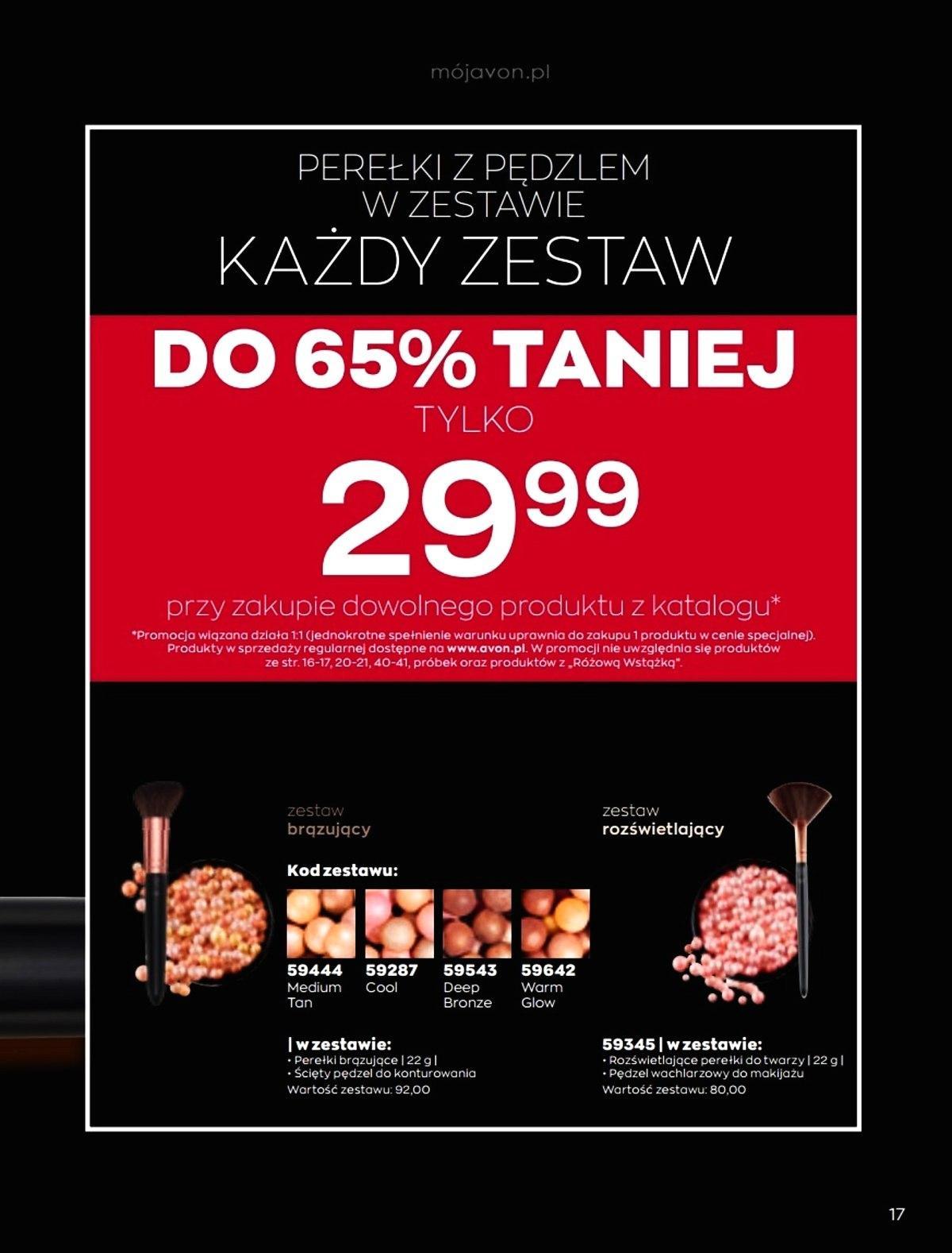 Gazetka promocyjna Avon do 05/02/2020 str.17