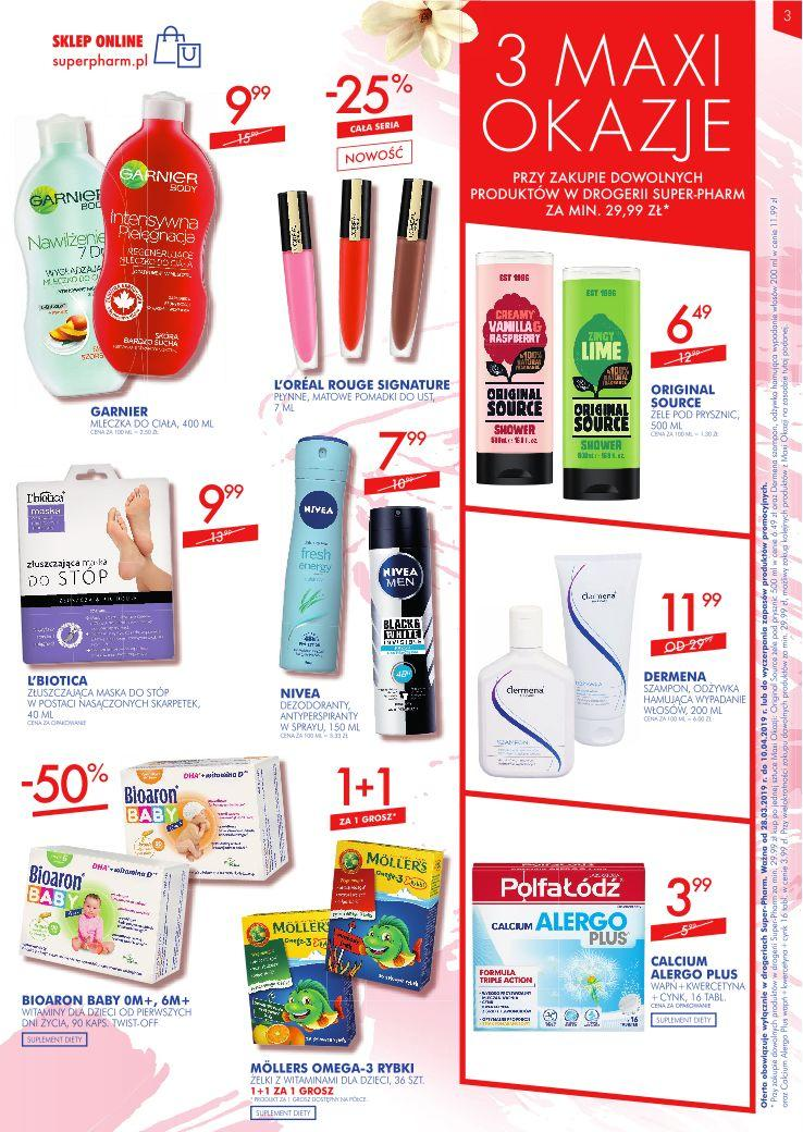 Gazetka promocyjna Superpharm do 10/04/2019 str.2
